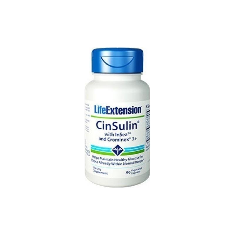 Life Extension Cinsulin Insea2 Crominex 3 90 φυτικές κάψουλες