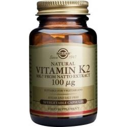 Solgar Vitamin K2 (MK-7) 100mcg 50 φυτικές κάψουλες