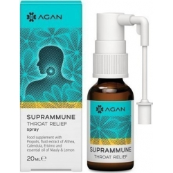 Samcos Agan Suprammune Throat Relief Spray 20ml