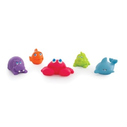 Nuk Playgro Under the Sea Squirtees 5tem