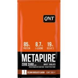 QNT Metapure Zero Carb Whey Isolate Protein Belgian Chocolate, 30gr