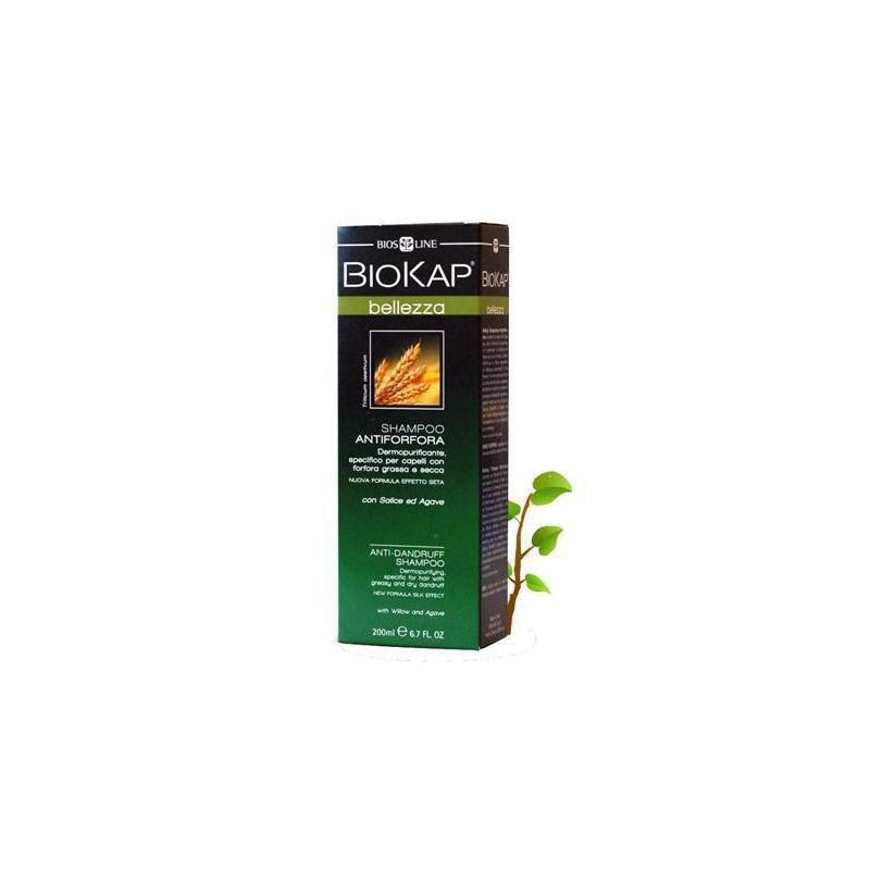 BioKap AntiDandruff Shampoo Αντιπιτυριδικό Σαμπουάν 200ml
