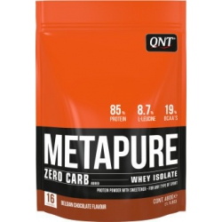 QNT Metapure Zero Carb Whey Isolate 480gr Belgian Chocolate