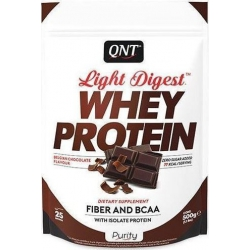 QNT Light Digest Whey Protein 500gr Belgian Chocolate