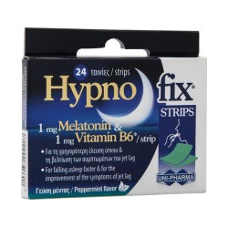 Uni-Pharma Hypno Fix Strips 24 ταινίες