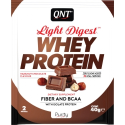 QNT Light Digest Whey 40gr Hazelnut Chocolate