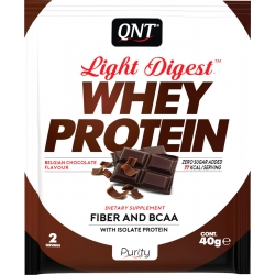 QNT Light Digest Whey Protein 40gr Belgian Chocolate
