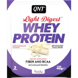 QNT Light Digest Whey Protein 40gr White Chocolate