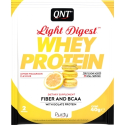 QNT Light Digest Whey Protein 40gr Lemon Makaroon