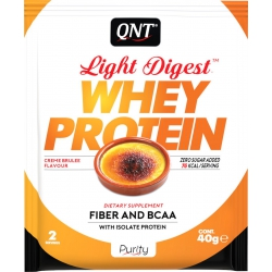 QNT Light Digest Whey 40gr Creme Brulee