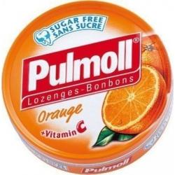Pulmoll Καραμέλες Πορτοκάλι με Βιταμίνη C 45gr