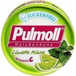 Pulmoll Καραμέλες Λάιμ & Μέντα με Βιταμίνη C 45gr