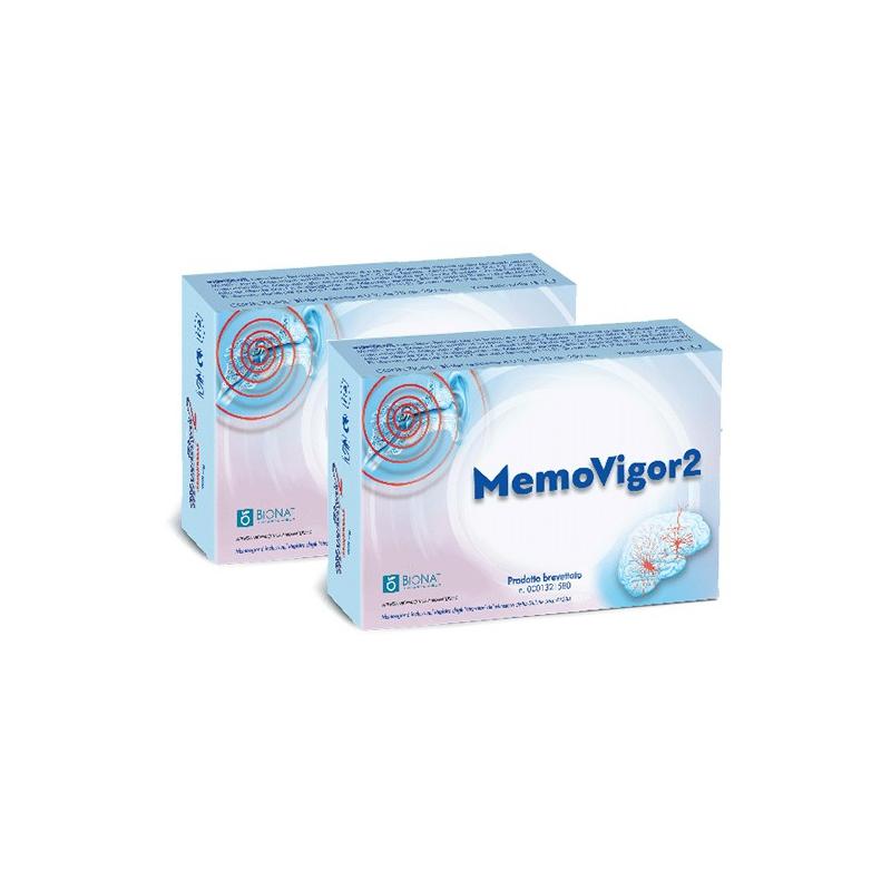 Bionat Memovigor 2  20tab X2 τεμ