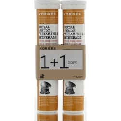 Korres Royal Jelly Vitamins & Minerals 2 x 18 αναβράζοντα δισκία
