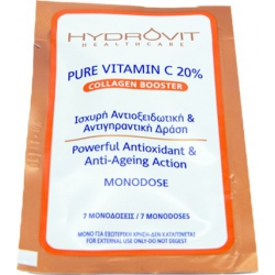 Target Pharma Hydrovit Pure Vitamin C 20% Collagen Booster Monodose 7Caps