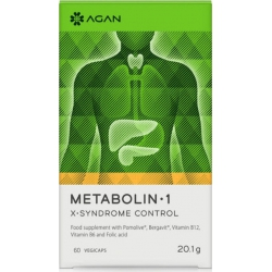 Agan Metabolin 1 30 φυτικές κάψουλες