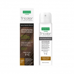 Homocrin Spray Βαφής Μαλλιών Καστανό ανοιχτό 75ml