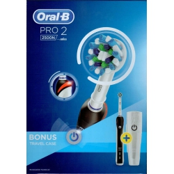 Oral-B Pro 2 2500N Black + Travelcase