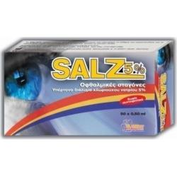 Zwitter Salz 5% Οφθαλμικές Σταγόνες 50amps