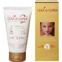 Cera di Cupra Face Sun Cream for Sensitive Skin SPF50 75ml