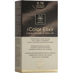 Apivita My Color Elixir 6.78 Ξανθό Σκούρο Μπεζ Περλέ