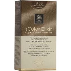 Apivita My Color Elixir 9.38 Ξανθό Πολύ Ανοιχτό Μελί Περλέ