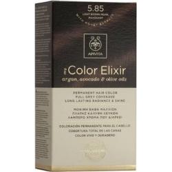 Apivita My Color Elixir 5.85 Καστανό Ανοιχτό Περλέ