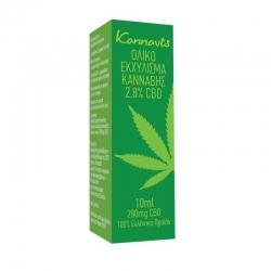 gm food & beverages mon ike Kannavis Ολικό Εκχύλισμα Κάνναβης 2.8% CBD Oi 280mg 10ml