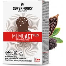 Superfoods MemoAct Plus 30 κάψουλες