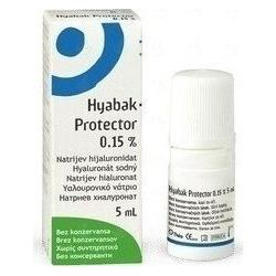 Hyabak 0.15% 5ml