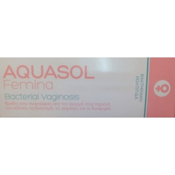 Olvos Science Aquasol Femina Bacterial Vaginosis Gel 30ml