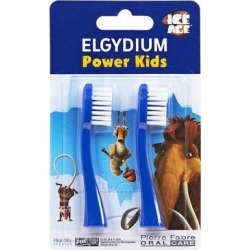 Elgydium Power Kids Ice Age Refill Blue Ανταλλακτικά Κεφαλής