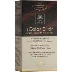 Apivita My Color Elixir 5.65 Καστανό Ανοιχτό Κόκκινο Μαονί