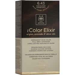 Apivita My Color Elixir 6.43 Ξανθό Σκούρο Χάλκινο Μελί