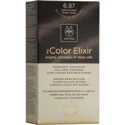 Apivita My Color Elixir 6.87 Ξανθό Σκούρο Περλέ