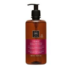 Apivita ECO PACK Women's Tonic Shampoo με Hippofae TC & Δάφνη 500ml.για Γυναίκες με Hippophae TC & Δάφνη 500ml