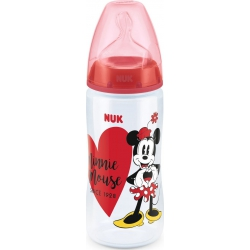 Nuk First Choice Disney  Μπιμπερό Πολυπροπυλενίου (PP) Minnie, Θηλή Σιλικόνης Νο2,300ml