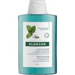 Klorane Anti-Pollution Detox Shampoo with Aquatic Mint 400ml