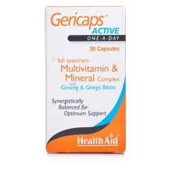 Health Aid Gericaps Active 30 κάψουλες