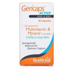Health Aid Gericaps Active 30 κάψουλες