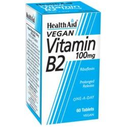 Health Aid B2 100mg 60 ταμπλέτες