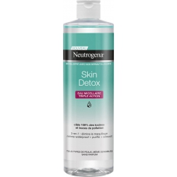 Neutrogena Skin Detox 3 in ! Micellar Water 400ml