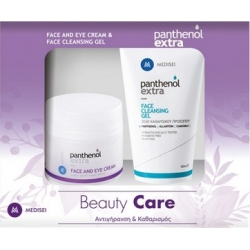 Panthenol Extra Beauty Care Face & Eye Cream 50 ml + Face Cleansing Gel 150 ml
