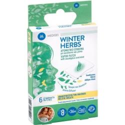 Medisei Winter Herbs Αρωματικό Επίθεμα με Ευκάλυπτο και Μέντα 6τμχ
