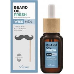 Vican Wise Men Beard Oil Fresh 30ml