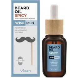 Vican Wise Men Beard Oil Spicy 30ml
