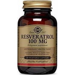 Solgar Resveratrol 100mg 60 φυτικές κάψουλες