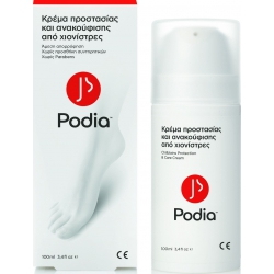 Podia Χιονίστρες - Κρέμα Προστασίας & Ανακούφισης σε περιέκτη Airless 100 ml