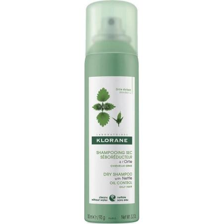 Klorane Dry Shampoo Ξηρό Σαμπουάν Κατά της Λιπαρότητας Τσουκνίδα 150ml