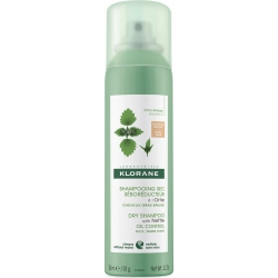 Klorane Shampoo Spray Sec Ortie Teint Για Λιπαρά Καστανά και Μαύρα Μαλλιά 150ml